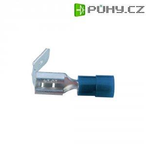Faston zásuvka s odbočkou Vogt Verbindungstechnik 3926, 6.3 mm x 0.8 mm, modrá, 1 ks
