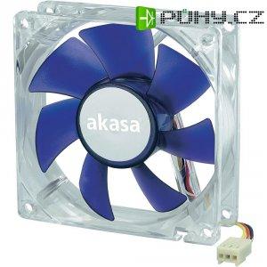 PC ventilátor Akasa, 80 x 80 x 25 mm