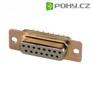 D-SUB zdířková lišta Assmann A -DF 15 PP, 15 pin