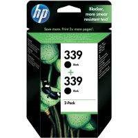 Cartridge do tiskárny HP C9504EE (339), černá, 2 ks
