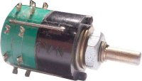 Přepínač otočný WK53316, 2-4polohy, 1paketa, hřídel 3x12mm