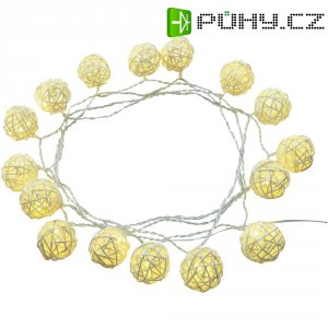Dekorační svítící řetěz Polarlite, 16 LED, 3,75 m