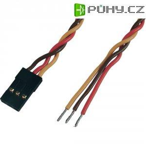 Kabel s konektorem JR, Modelcraft, 0,25 mm², 300 mm