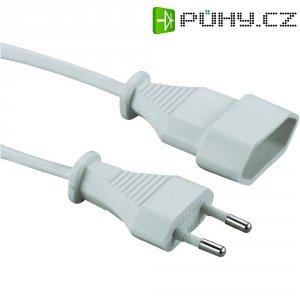 Prodlužovací Euro kabel, 2 m, bílá