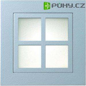 Rámeček pro vestavné osvětlení s okénky Marsala Sygonix 34099V, šedá