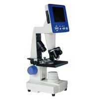 Mikroskop 4x - 1600x, SD karta, USB, displej