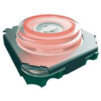 Tlačítko bez aretace Marquardt 3006.2102, 28 V/DC, 0.05 A, černá, 1x vyp/(zap), červená