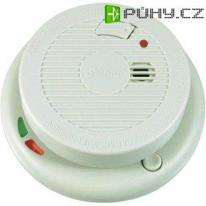 Bezdrátový detektor kouře Stabo 51114, 9 V, 30 m