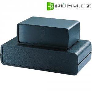 Skořepinové pouzdro Strapubox, (š x v x h) 230 x 62 x 130 mm, černá
