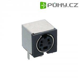 Miniaturní zásuvka pro tiskárnu úhlová Lumberg TM 0508 A/4, 4pól.