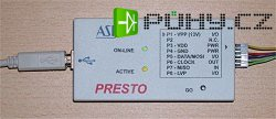 PRESTO - rychlý USB programátor