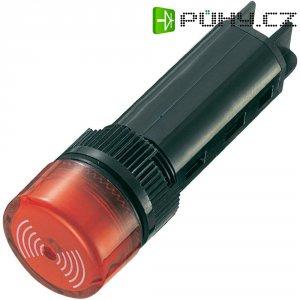 Sirénka, 80 dB 12 V/DC, 16 mm, červená