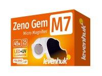 Lupa ruční LEVENHUK ZENO GEM M7 + LED osvětlení