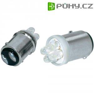 LED žárovka Eufab, 13467, 3,6 W, 12 V, BAY15D, bílá, 2 ks