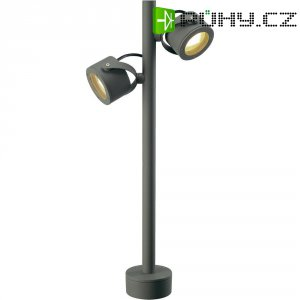 Venkovní sloupové světlo SLV Sitra 360, GX53, 9 W, antracit