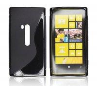ForCell Zadní Kryt Lux S Black pro Nokia Lumia 920