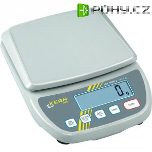 Váha na dopisy Kern Max. váživost 6 kg Rozlišení 0.1 g 230 V, na baterii bílá