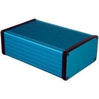 Univerzální pouzdro hliníkové Hammond Electronics, (d x š x v) 160 x 103 x 53 mm, modrá