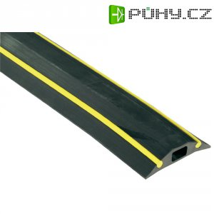 Kabelový můstek Vulcascot Snap Fit HAZ VUS-018, 3000 x 83 x 16 mm, HAZ 2, pro kabel o Ø 14 mm, černá