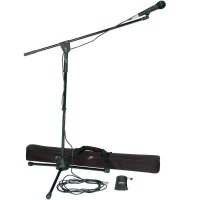 Sada mikrofonu se stativem Peavey PV-MSP 1, XLR-XLR kabel
