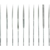 Sada diamantových pilníků Toolcraft 821024, 10 ks