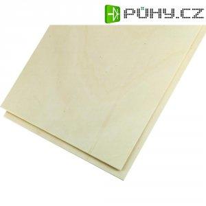 Překližka z topolového dřeva 500 x 250 x 8 mm, 2 ks