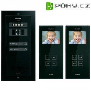 Domácí videotelefon Bellcome, 2 rodiny, černá