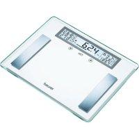 Skleněná diagnostická váha Beurer BG 51 XXL, 760.20, nerez