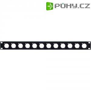 "XLR panel racku 48,3 cm (19\""), 1 HE"