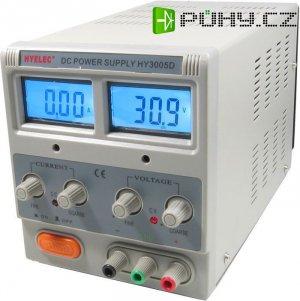 Laboratorní zdroj HYELEC HY3005D 0-30V/0-5A