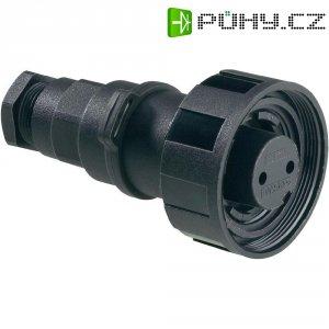 Zásuvka Buccaneer ESKA Bulgin PX0731/S, šroub. matice, 3pól., (Ø x d) 38,1 x 69 mm, IP68