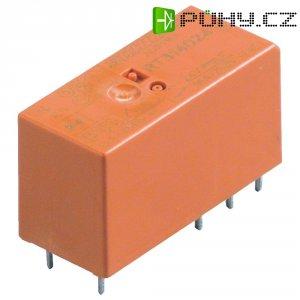 RT-výkonové relé pro DPS, 8 A, 2 x přepínací kontakty 24 V/DC TE Connectivity RT424024
