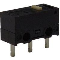 Mikrospínač Zippy DF-03S-0P-Z, 125 V/AC, 3 A, do DPS, 1x zap/(zap)