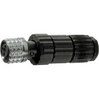 Konektor s rychlospojkou pro Sensorik, Hirschmann ELKA 3008 V, 933 366-100, M8