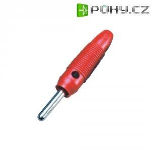 Banánkový konektor 4mm, BKL Electronic 072149-P, červená