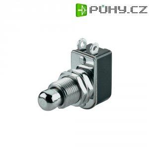 Tlačítko SCI, R13-85A-05, 250 V/AC, 3 A, vyp./(zap.), kov
