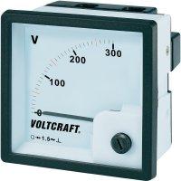 Analogové panelové měřidlo VOLTCRAFT AM-72x72/300V 300 V
