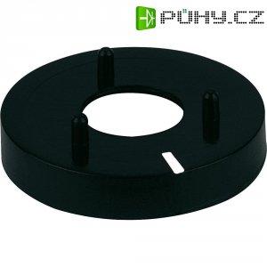 Krytka matice na knoflík (Ø 14,5 mm) Mentor 331130, černá