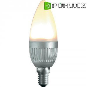 LED žárovka Sygonix E14, 4.5 W , teplá bílá, stmívatelná svíčka