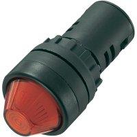 LED signálka AD16-22HS/24V/R, LED signálka, 24 V/DC / 24 V/AC, červená