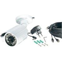 Venkovní kamera 420 TVL, 8,5 mm Sony CCD, 12 VDC, 3.6 mm, včetně CCTV kabelu a napájení