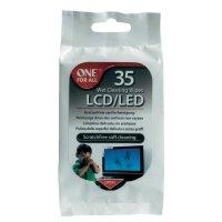 Čisticí ubrousky OneForAll SV 8404 LCD/LED, 1 balení