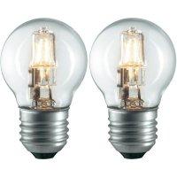 Halogenová žárovka Sygonix, E27, 28 W, 75 mm, stmívatelná, teplá bílá