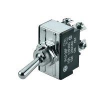Páčkový spínač SCI R13-28A-06, 250 V/AC, 10 A, 1x vyp/zap, 1 ks