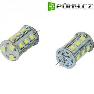 LED žárovka Renkforce, G4, 2,4 W, 30 V, 42 mm, studená bílá