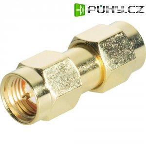 SMA zástrčka / SMA zástrčka BKL Electronic 409072, 50 Ω, 5000 MΩ, adaptér rovný, Pozlacený