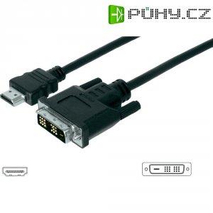 Kabel vidlice HDMI ⇔ vidlice DVI, 3 m, Digitus