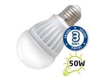 Žárovka LED A60 E27 7W bílá teplá (Al)