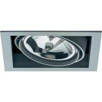 Vestavné svítidlo Sygonix Ancona AR111, 100 W, G53, stříbrná/šedá