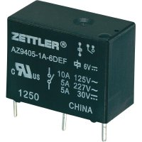 Miniaturní zátěžové relé AZ9405, 10 A 12 V/DC 10 A Zettler Electronics AZ9405-1A-12DEF